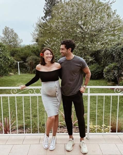 Ça pousse toujours du côté de Rachel Legrain-Trapani, à nouveau enceinte d'un petit garçon.