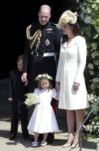 Trop petit, Louis n'a pas assisté au mariage de son oncle le prince Harry et de Meghan Markle en mai