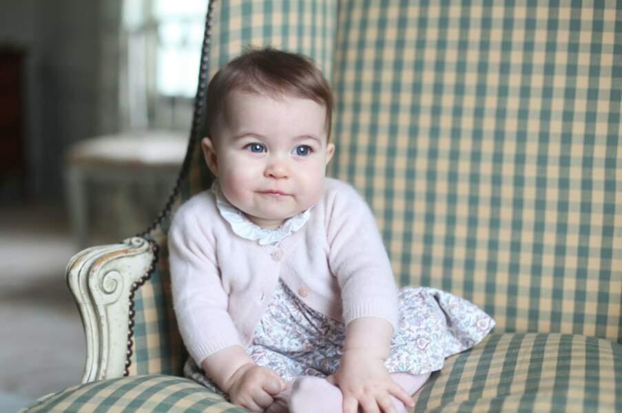 Kate immortalise les 6 mois de sa ravissante petite fille