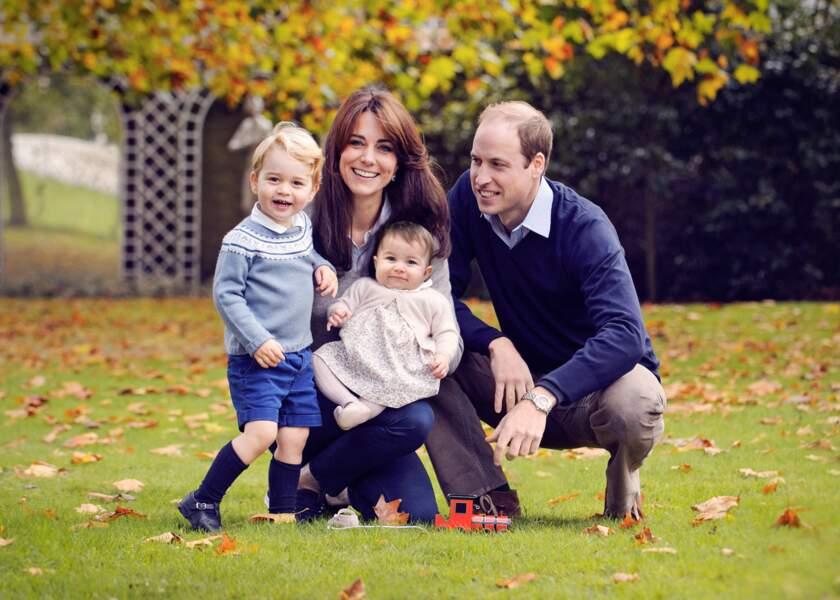 Un adorable portrait de famille en cette fin d'année 2015 !