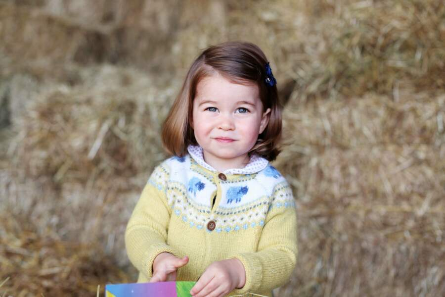 Mai 2017, Charlotte vient d'avoir 2 ans !