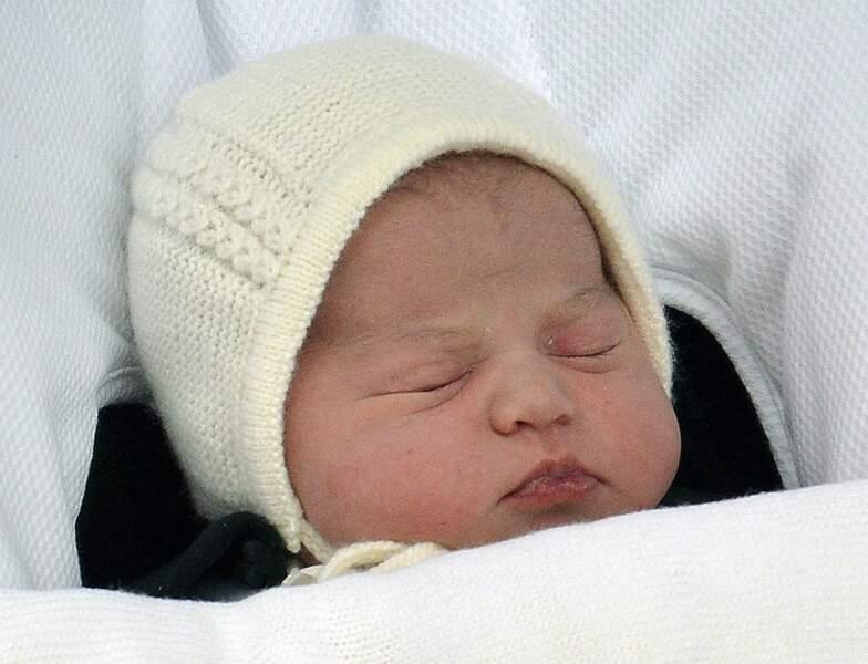 La petite Charlotte Elizabeth Diana pèse 3,7 kg