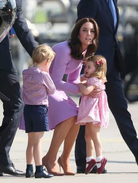 Mais on a beau être une princesse, on n'en reste pas moins une petite fille de deux ans ayant parfois du mal à rester sage !