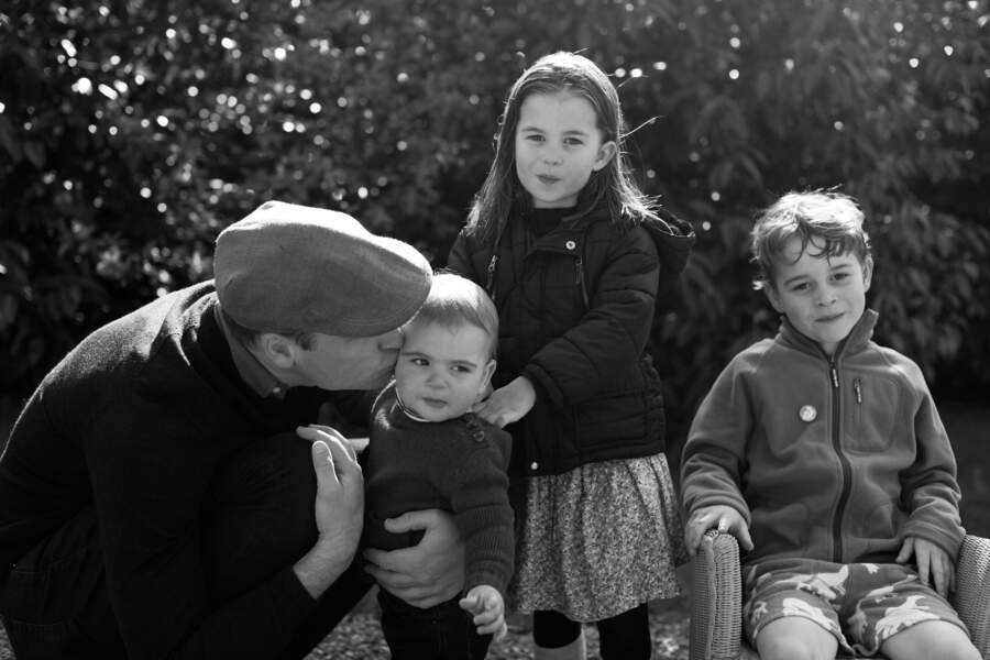 Le prince William : un vrai papa gâteau pour ses 3 enfants !