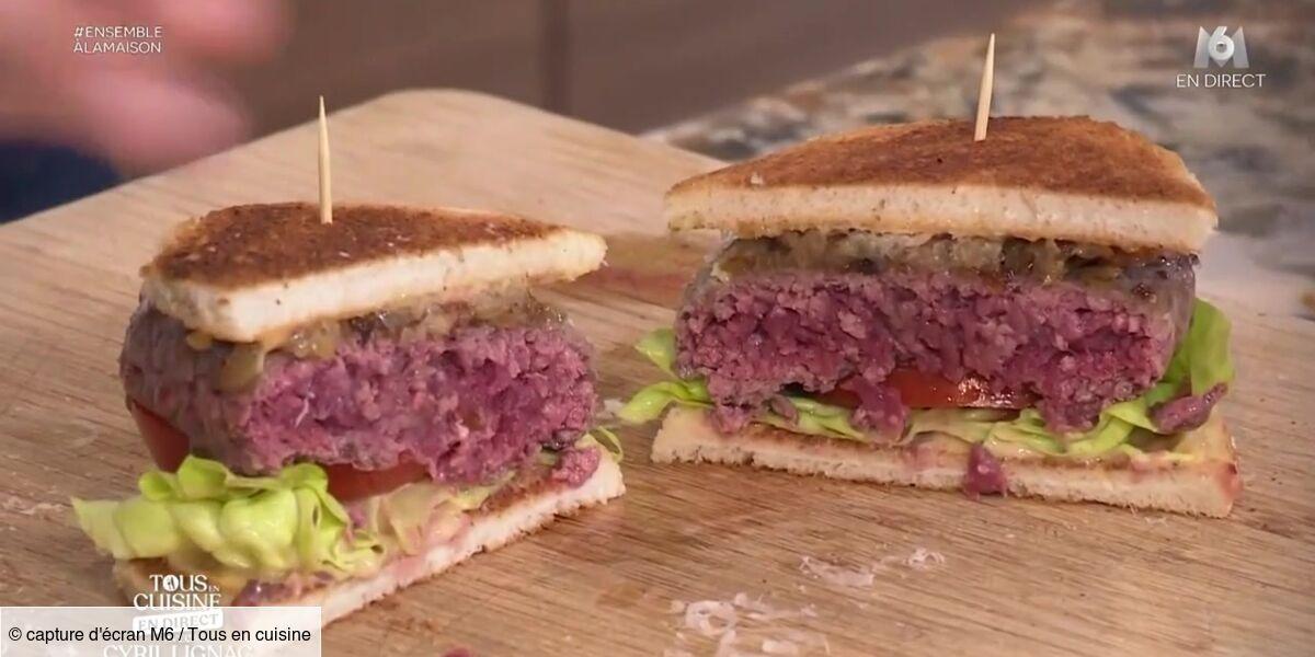 Tous en cuisine avec Cyril Lignac : la recette des burgers de bœuf