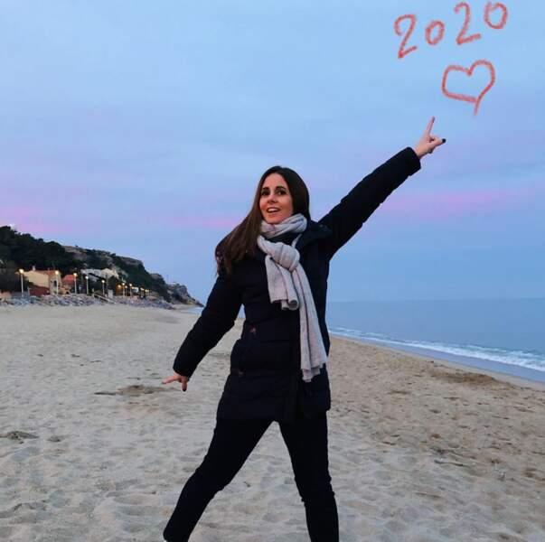Le passage de la nouvelle année rime toujours avec changement d'âge pour Caroline Munoz, qui est née un 2 janvier.