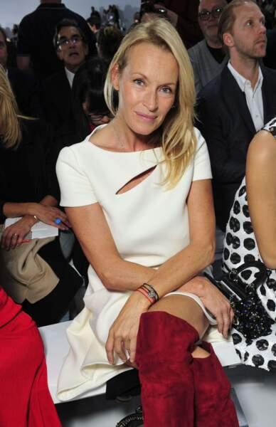 Divine en cuissardes chez Dior en 2015.