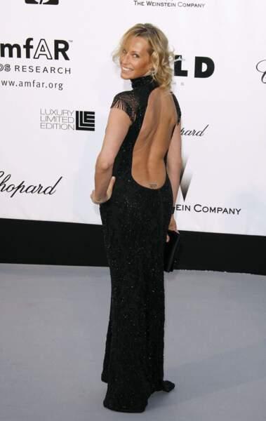Façon Mireille Darc à Cannes en 2008.