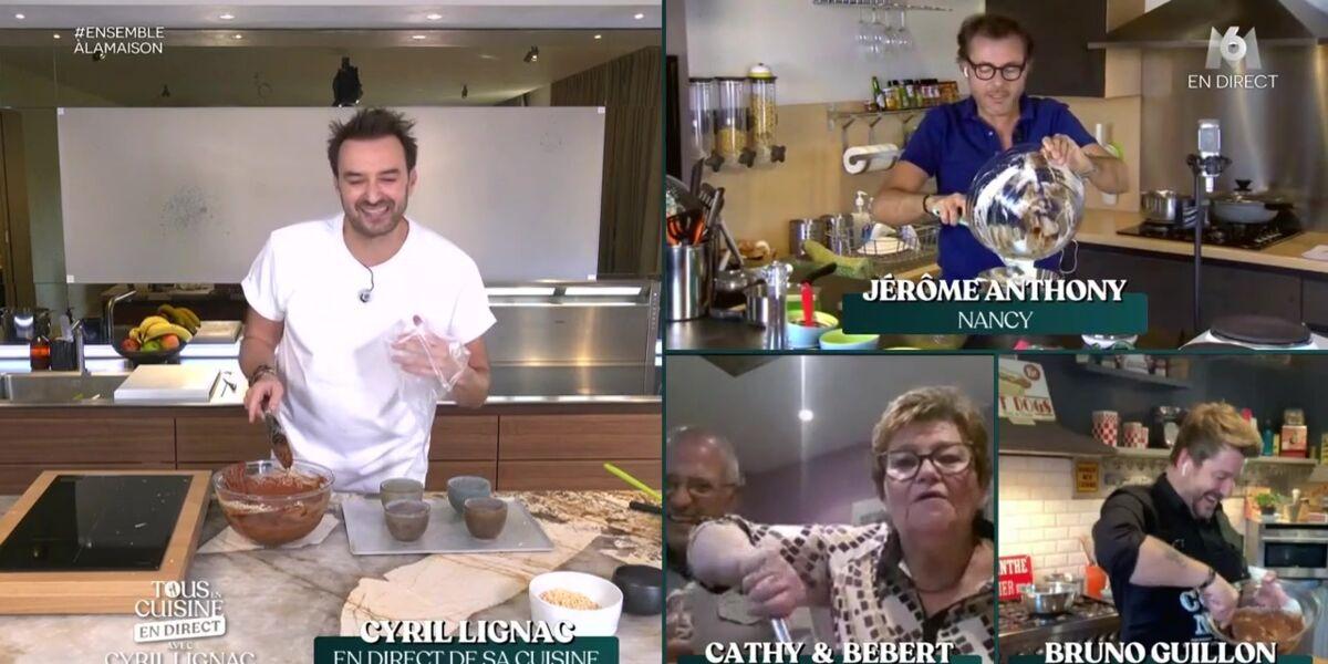 Tous En Cuisine Cyril Lignac Tres Gene D Evoquer Pour La
