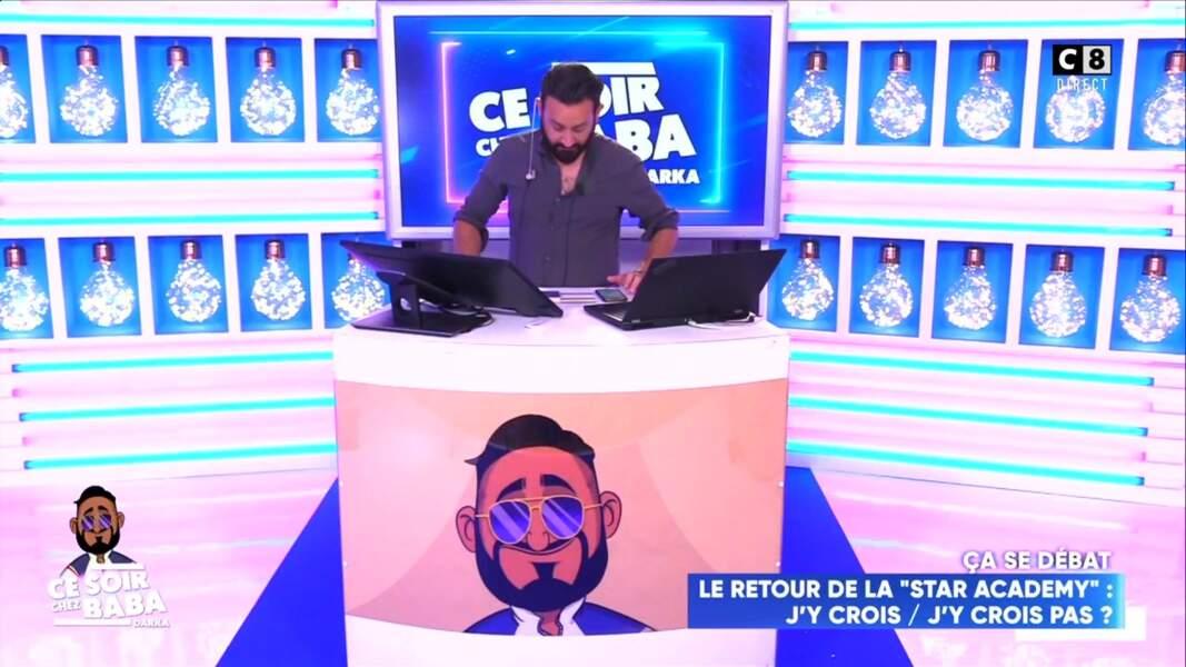 Cyril Hanouna a assuré le show depuis chez lui