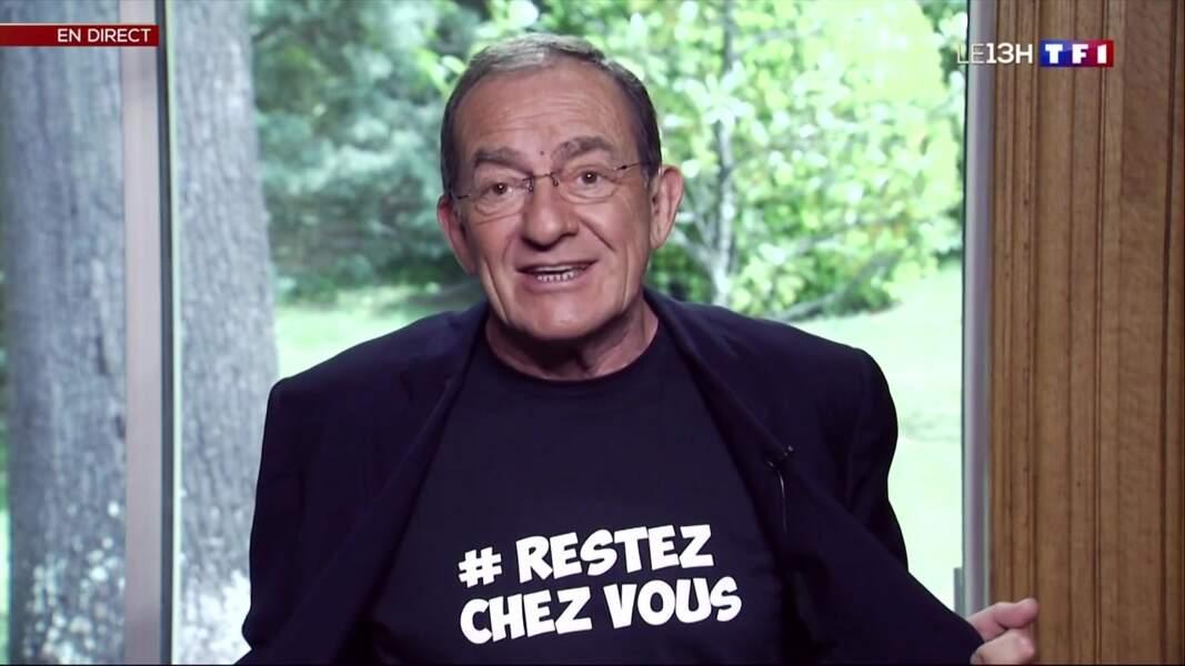 Jean-Pierre Pernaut a préféré céder sa place pour présenter une pastille depuis chez lui.