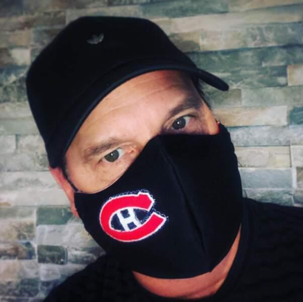 Jean-Marc Généreux ne masque pas sa passion pour l'équipe de hockey des Canadiens de Montréal