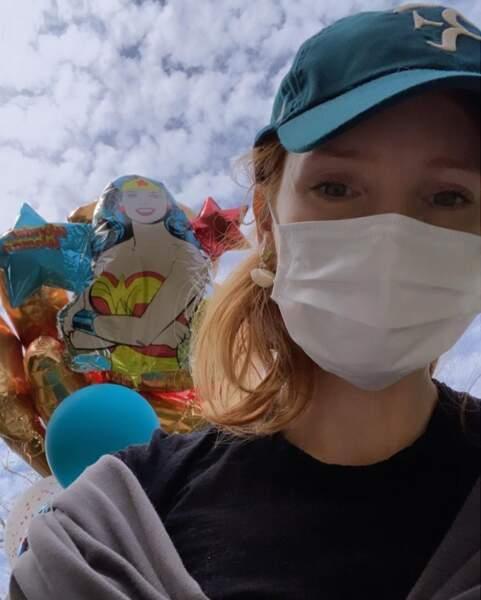 Jessica Chastain parée pour rendre visite à un ami