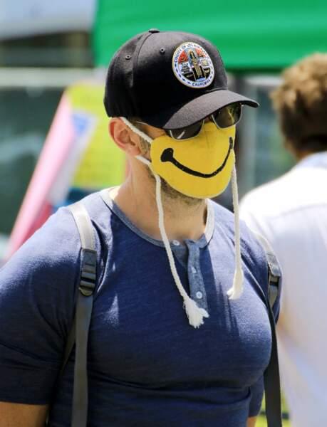 Même masqué, Joel McHale garde le sourire