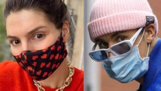 Laury Thilleman, Justin Bieber, Cindy Crawford, Elsa Zylberstein… Les masques glamour (ou pas) des stars (PHOTOS)