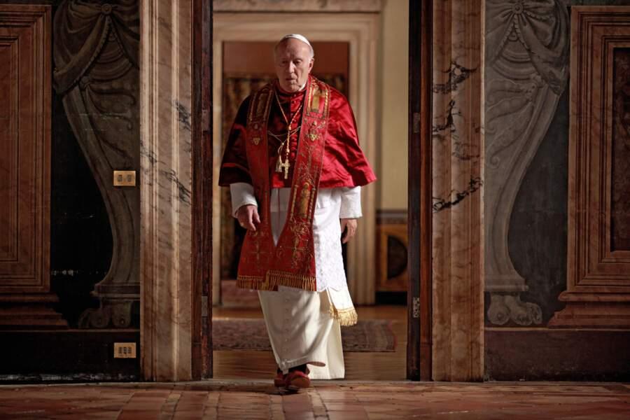 """L'acteur dans son dernier grand rôle en 2011 : il incarne le Pape nouvellement élu dans le long métrage """"Habemus Papam"""" de Nanni Moretti"""