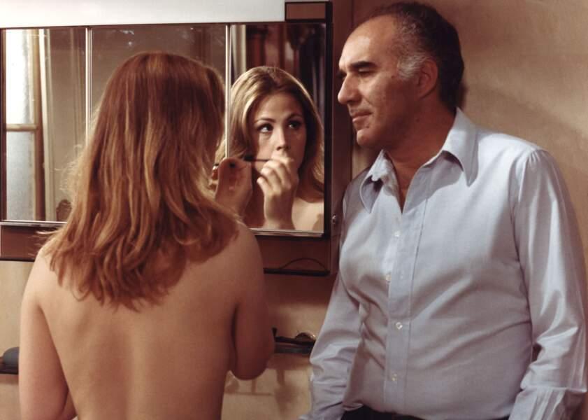 """1976 : nouvelle collaboration avec Sautet dans """"Mado"""" où il partage l'écran avec Ottavia Piccolo"""