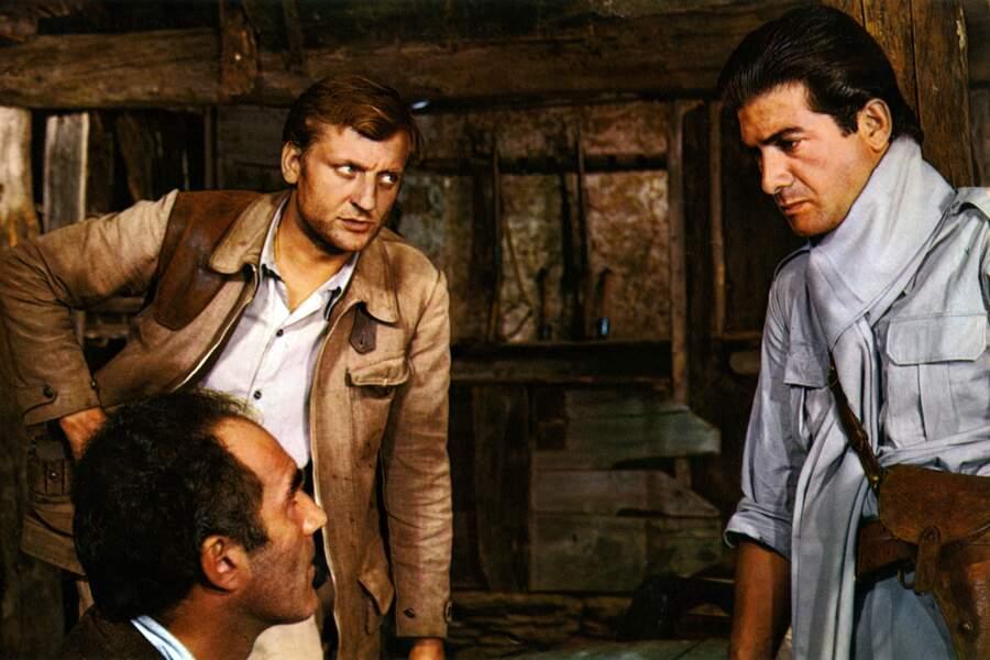 """La même année, il donne cette fois la réplique à Bruno Crémer et Jean-Claude Brialy dans """"Un homme de trop"""" de Costa-Gavras"""