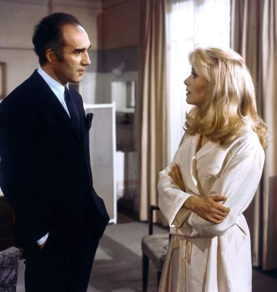"""Un classique du cinéma de 1967 : Piccoli et Catherine Deneuve dans """"Belle de Jour"""" de Buñuel"""