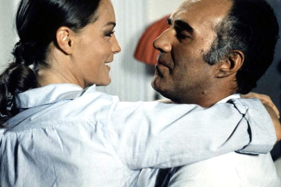 """Dans """"Les Choses de la vie"""", Claude Sautet réunit en 1970 Romy Schneider et Michel Piccoli, couple mythique du cinéma"""