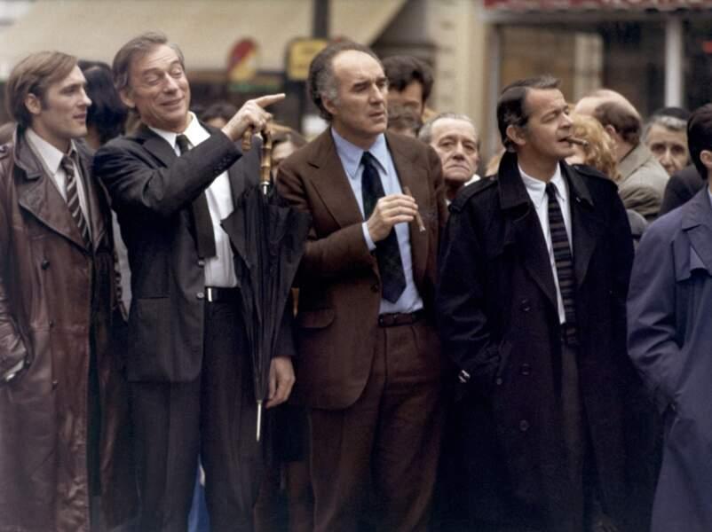 """Claude Sautet réunit en 1974 un casting impressionnant : Gérard Depardieu, Yves Montand, Piccoli et Serge Reggiani qui ne sont autres que """"Vincent, François, Paul et les autres"""""""