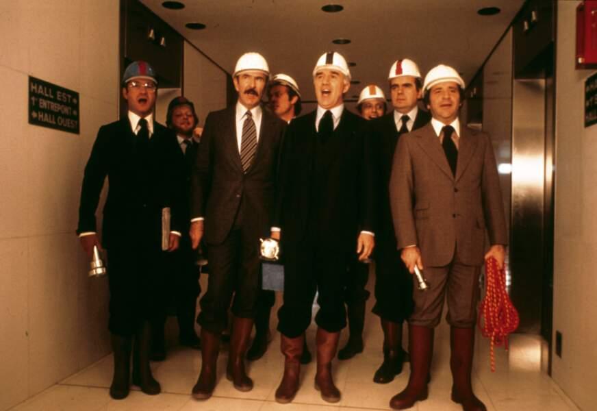 """""""L'Imprécateur"""" (1977) : Piccoli retrouve Brialy mais aussi Jean-Pierre Marielle et Jean Yanne dans cette comédie dramatique de Jean-Louis Bertuccelli"""