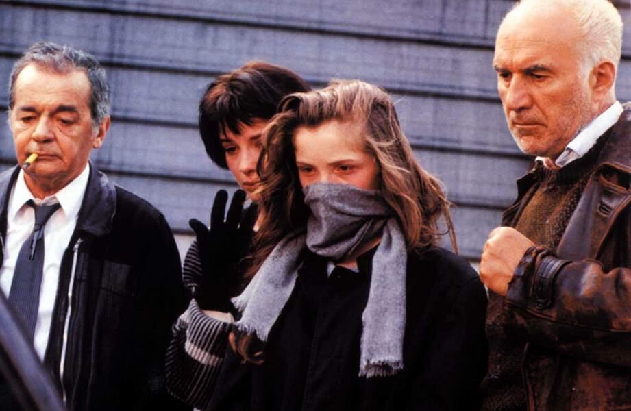 """En 1986, Leos Carax réalise """"Mauvais Sang"""" avec notamment Serge Reggiani, Juliette Binoche, Julie Delpy et Piccoli"""