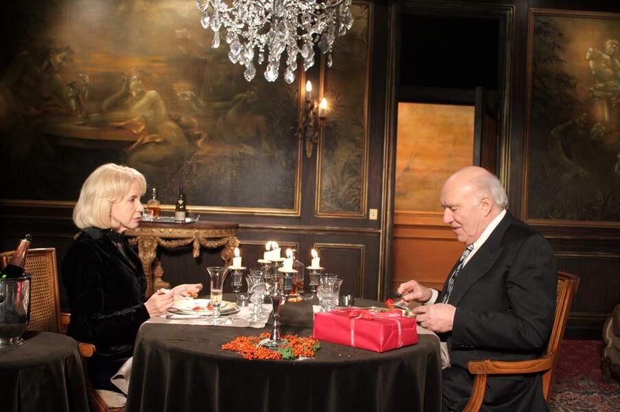 """Bulle Ogier et Michel Piccoli sont réunis en 2007 dans """"Belle toujours"""" de Manoel de Oliveira"""