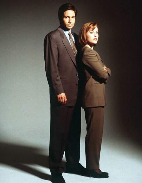 Tailleur stricte et brushing parfait, dans The X-Files dans les années 90