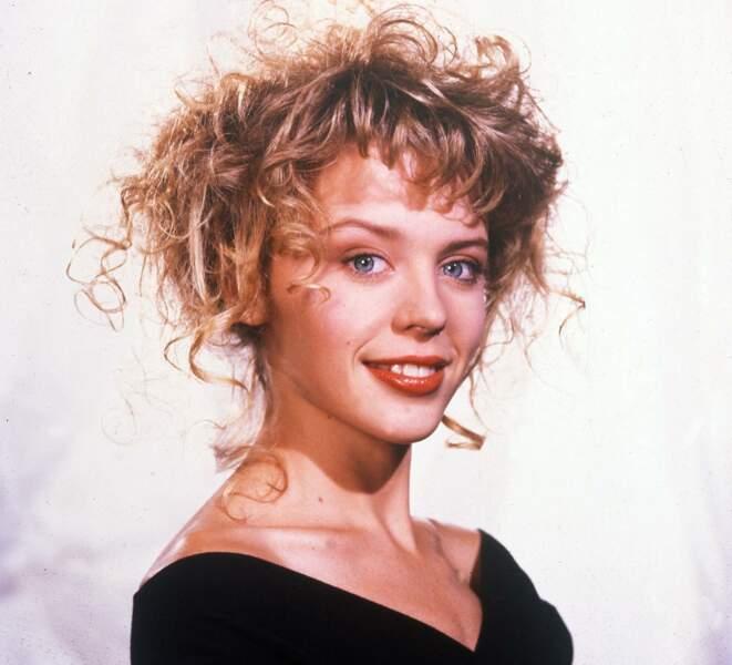 Kylie Minogue est née le 28 mai 1968 à Melbourne (ici en 1988)