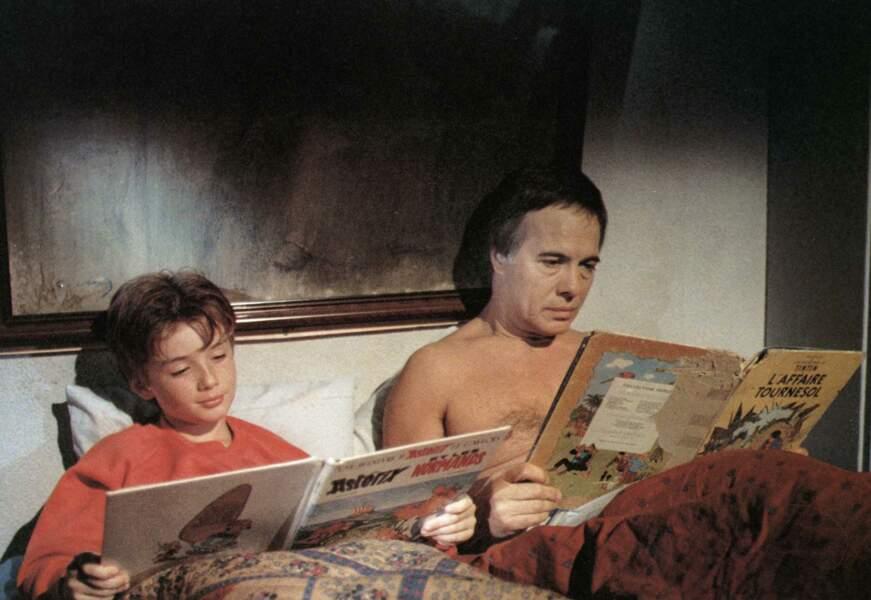 """Guy Bedos aux côtés de F.Chombard dans le film """"Il est Génial Papy """""""