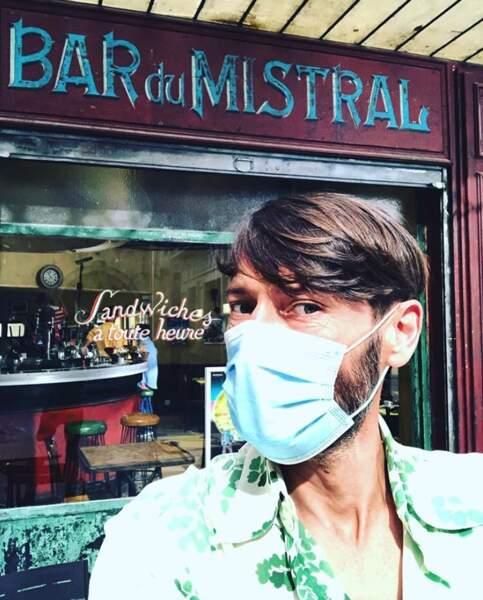 Laurent Kérusoré était de retour non loin, au Mistral.