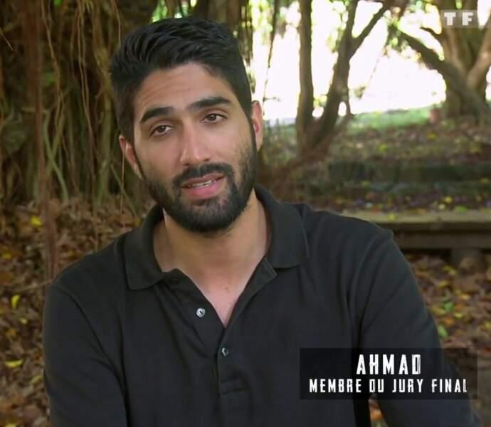 Ahmad dans la villa du jury final