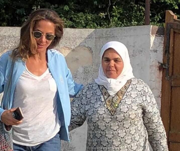 Jamel Debbouze a rendu un hommage aux deux femmes de sa vie : sa femme Mélissa Theuriau et sa maman