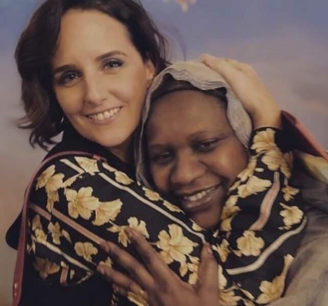 Omar Sy l'a imité avec une superbe photo de sa femme Hélène et de sa maman
