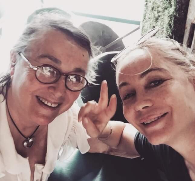 Emmanuelle Béart nous présente sa maman sur Instagram
