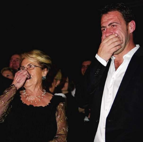 Le chef Michel Sarran et sa maman : telle mère tel fils !