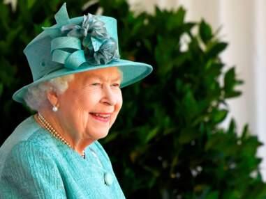 La reine Elisabeth fête Trooping the colour