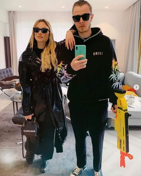 Norman Thavaud et sa compagne Martha était prêts pour le remake de Matrix.