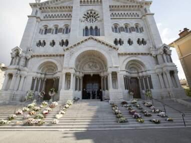 Les Grimaldi assistent aux obsèques de leur cousine