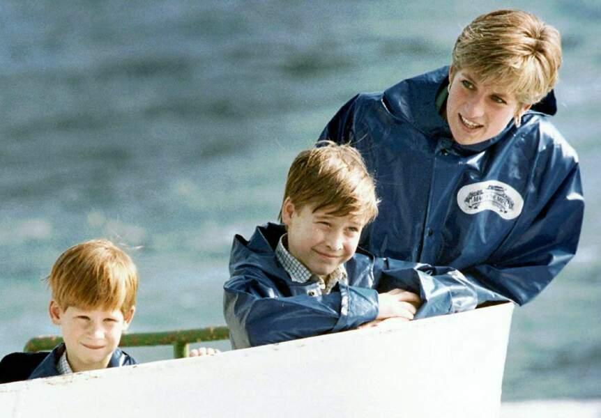 La princesse Diana, sa mère, son inspiratrice, sa confidente a joué un rôle essentielle dans sa vie