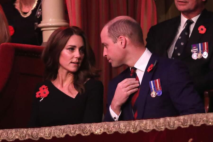 Kate Middleton, son épouse, qui sait l'apaiesr et l'épauler dans sa tâche