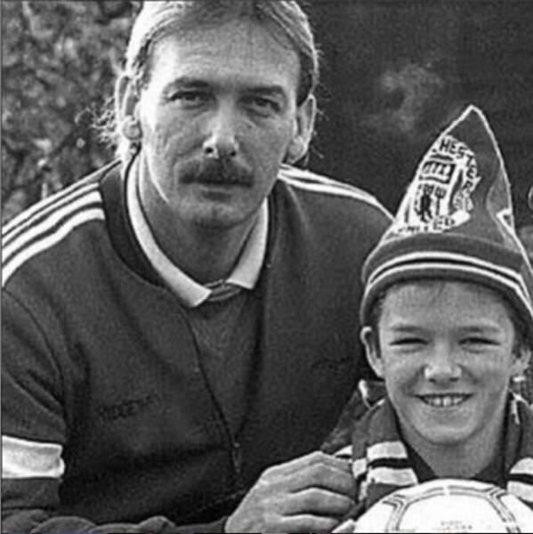 L'ex-gloire de Manchester United n'a pas oublié non plus son propre père