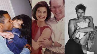 Shy'm, Teri Hatcher, Chloé Jouannet... les stars du petit écran célèbrent la fête des pères (PHOTOS)