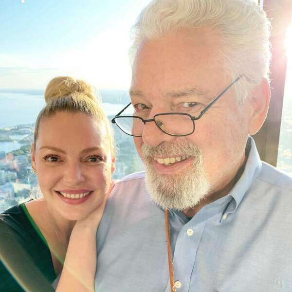 Et un selfie pour Katherine Heigl (Grey's Anatomy, Suits) et son papa !