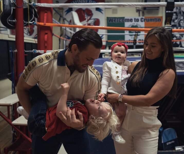 Conor McGregor, champion de MMA et des papas