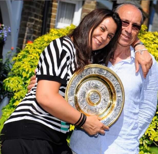 Marion Bartoli et son père Walter : un amour fusionnel !