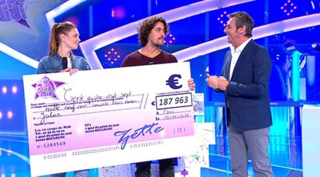 Julien le Boulanger (45 participations en 2018, 187 963 € de cadeaux et de gains)