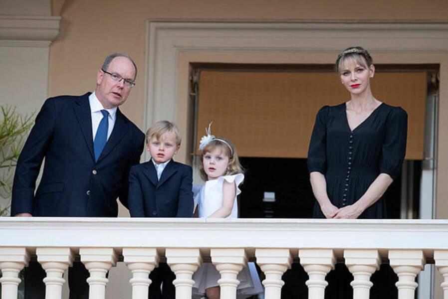 Après plusieurs semaines rythmées par la crise sanitaire, la famille princière a pu revivre un moment de partage avec les habitants de la Principauté
