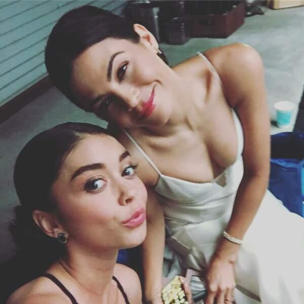 Jenna Dewan et Sarah Hyland (Modern Family) ont joué deux sœurs dans le film The Wedding Year... Les deux femmes avouent en avoir rêvé pendant longtemps !